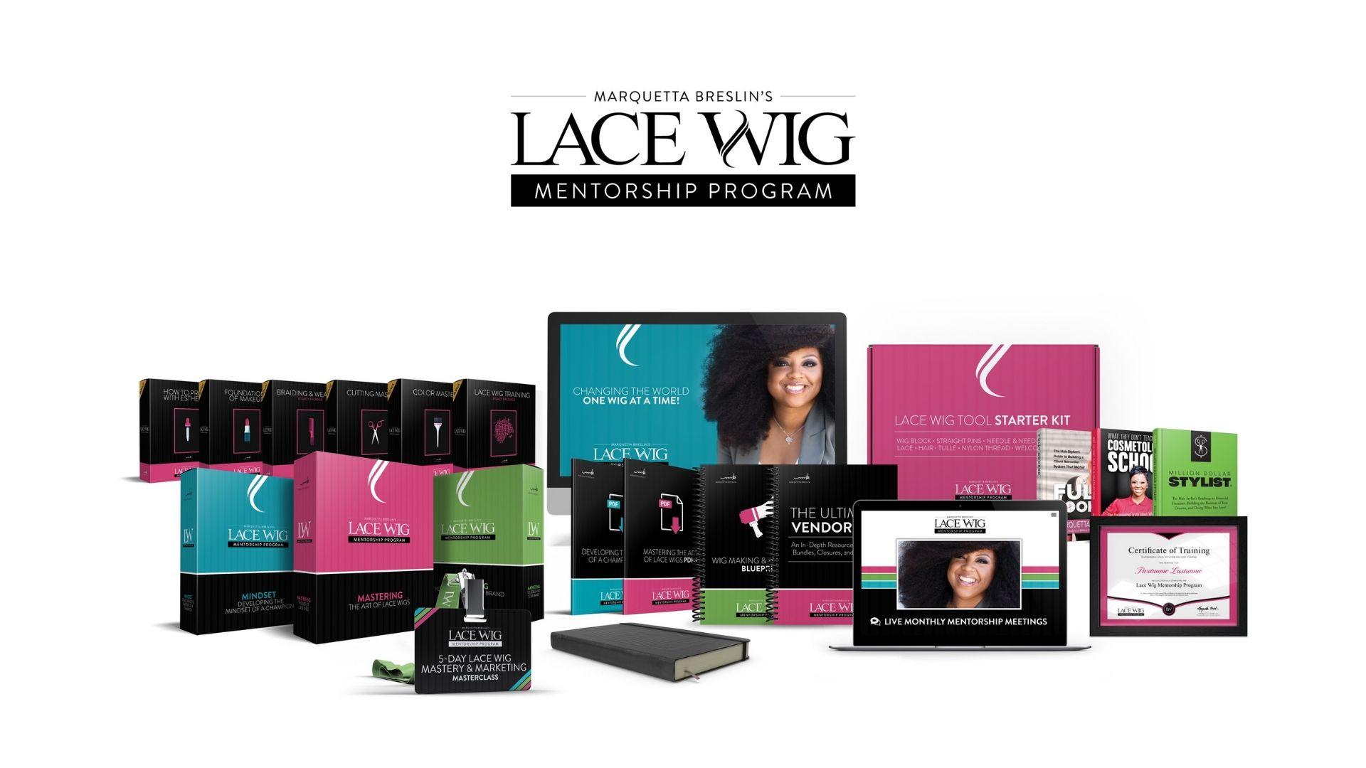 Sneak Peek Inside The Lace Wig Mentorship Program 1