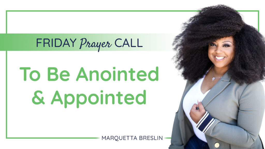 Friday September 4, 2020 Prayer Call | To Be Anointed & Appointed 1