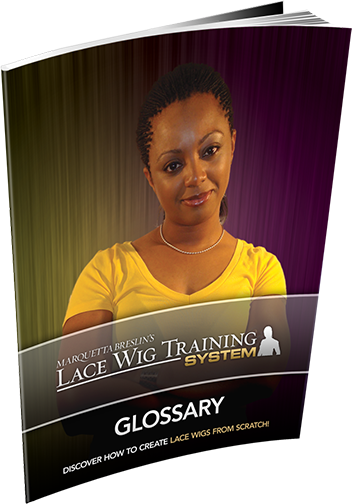 Lace Wig Training System Workbook 1