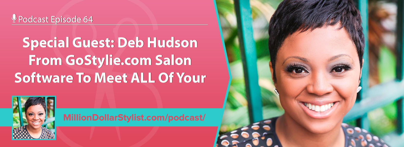Episode 064 –  Special Guest: Deb Hudson From GoStylie.com Salon Software To Meet ALL Of Your Salon Automation Needs 1